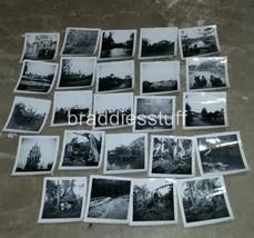 24qty Dec 1955 DISNEYLAND Black & White Snapshot Photos Jungle Ship Sawy... - $499.00