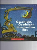 Goodnight, Goodnight, Construction Site Kid's Book - $7.00