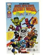 Secret Wars #4 SDCC 2015 Minimates Convention Variant Cover Marvel Comic... - $5.94