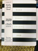 "Lady Jayne Ltd 2019 - 2020 Monthly & Weekly Planner ""Make Today Amazing""... - $29.16"