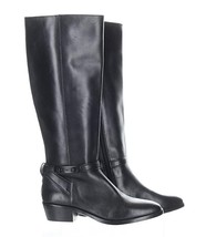 NEW $395 Coach Womens Caroline Tall Boot Black Size 6 Black - $128.79