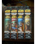 4 different Star Wars Energy beam blaster refill canisters New boxed - $145.00