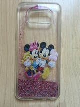Mickey & Minnie Mouse Sparkle Liquid Glitter Quicksand Case For Galaxy S8 Plus - $14.99