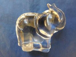 LENOX FINE LEAD CRYSTAL THE GOOD LUCK ELEPHANT FIGURINE PAPERWEIGHT - $24.49