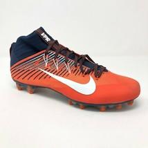 Nike Vapor Untouchable 2 Football Orange Navy Broncos 835646-406 Mens 13.5 - $39.95