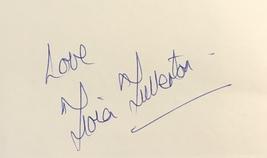 Fiona Fullerton Autographed Hand Signed 3x5 Index Card w/COA James Bond 007 - $13.99