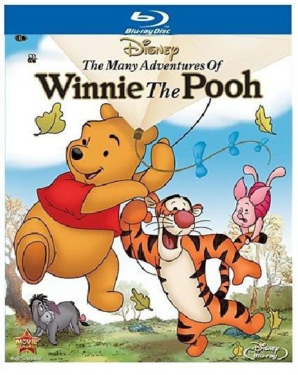 Disney The Many Adventures of Winnie the Pooh [Blu-ray + DVD]