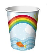 Noah's Ark Cute Cartoon Animals Boat Baby Shower Party 9 oz. Paper Cups - $8.66