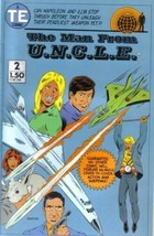 The Man From U.N.C.L.E. Comic Book #2 Entertainment 1987 VERY FINE+ NEW ... - $3.50