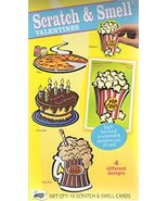 Mello Smello Scratch N Sniff Valentines Cards 16 Scratch N Smell New - $23.00