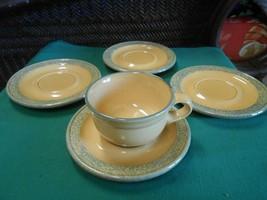 """Great Pfaltzgraff M.A.F.A. """"Folk Art"""" ....1 Cup & Saucer & 3 Extra Saucers - $9.49"""