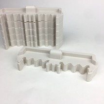 Electronic Mall Madness 6 Plastic Wall Pieces ONLY Replacement Vintage 1996 - $13.09