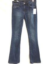 Ladies JOE'S JEANS Rocker Bootcut Jeans Mindy Medium Blue Wash Sz 25 - $31.18