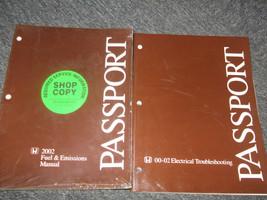 2002 Honda Passport Truck Electrical Fuel Manual Set Ewd & Fuel Emissions Oem 02 - $17.49