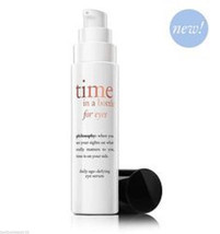 Philosophy Time In A Bottle For Eyes 0.5oz Full Size! - $45.79