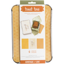 Homemade With Love Food Craft Tins Large Thanks giving - $15.00