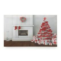 Holiday Fireplace Led Wall Art - $26.22
