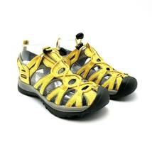 Keen Newport YELLOW Gray Waterproof Sport Sandals Women's Size 5.5 LW 0112 - $24.70