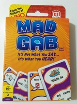 Mad Gab Card Game 2012 Mattel - $23.55