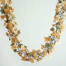 6 FT Artificial Fall Ivy Garland Foliage for Wedding SuppliesTkFavort - $29.70