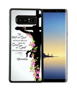 Personalized Case Fits Samsung Note 9 7 5 4 Grace of God Religious Cross - €12,26 EUR