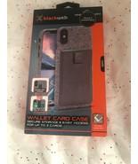 NEW Blackweb Samsung Galaxy Note 8 Wallet Card Holder Phone Case Gray Fr... - $9.39