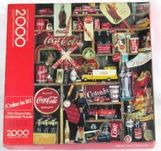 The Coca-cola Collectible Centennial 2000 Piece Puzzle 1986 by Springbok