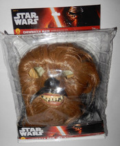 Rubies Adult Chewbacca Supreme mask costume  Star Wars Realistic w/ pack... - £53.54 GBP