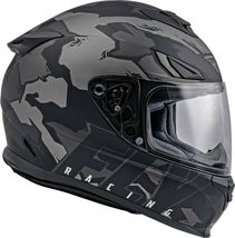 XS Fly Racing Sentinel Ambush Motorcycle Helmet Camo/Grey/Black DOT & ECE  image 5