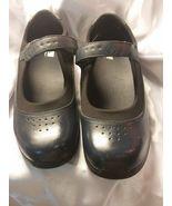 Drew Rose Mary Jane NAVY BLUE Women's Leather Diabetic Shoe Size 11WW  - $49.99
