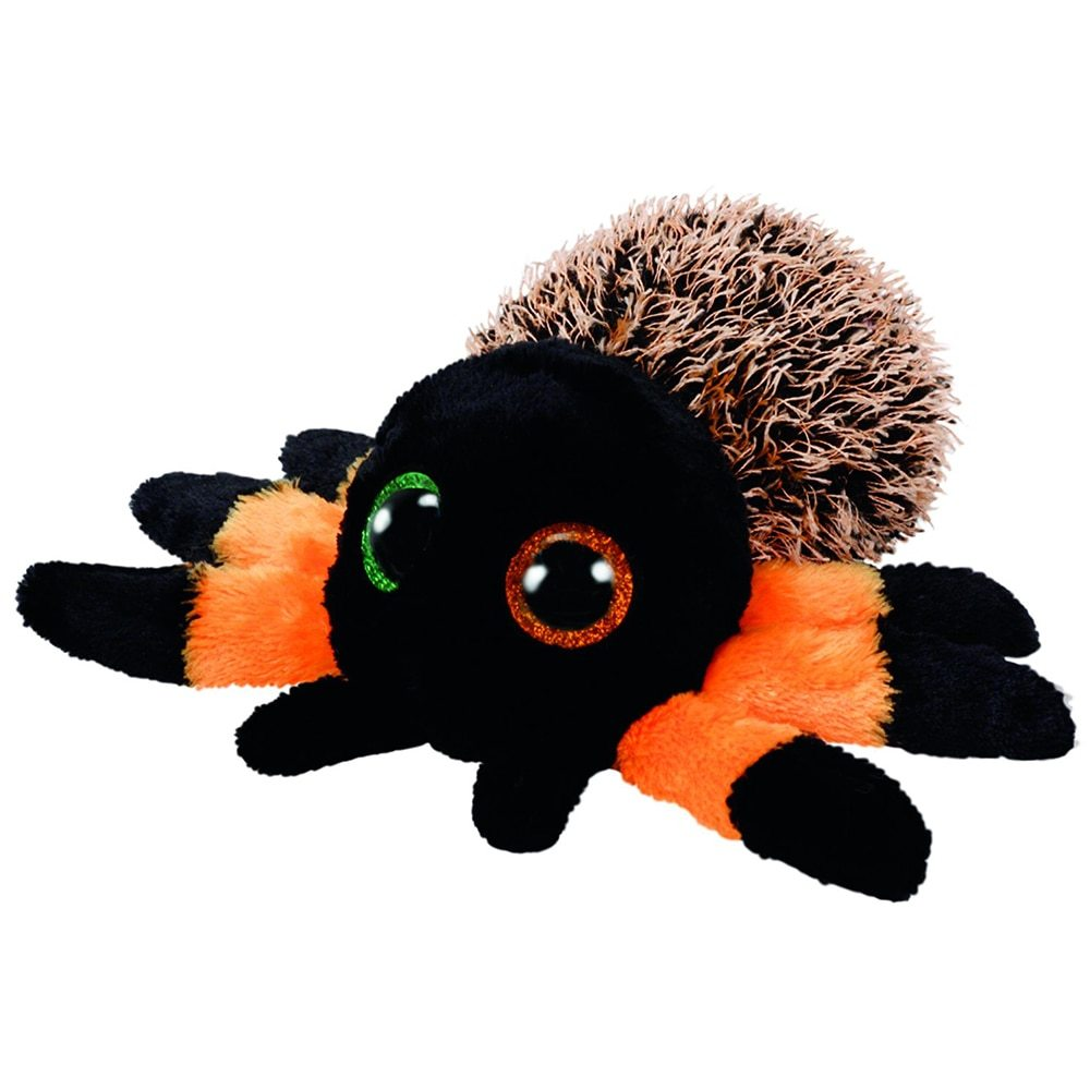 "Pyoopeo Ty Boos 6"" 15cm Hairy the Orange Halloween Spider Plush Regular Stuffed"