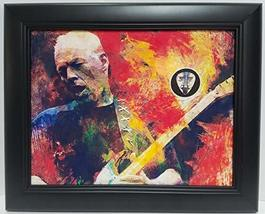David Gilmour custom framed guitar pick display J1 - $75.95