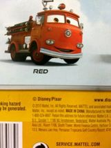 Sealed 2010 Mattel Pixar Disney Cars RED THE FIRETRUCK deluxe you figure  image 4