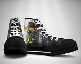 BATHORY LOGO Canvas Sneakers Shoes - $49.99
