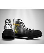 BATHORY LOGO Canvas Sneakers Shoes - $29.99