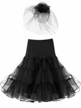 1950s Vintage Petticoat Skirts Crinoline Tutu Underskirts and Fascinator... - $27.71+