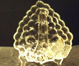 Concord Grape triangular Glass Candy Dish AA19-LD11934 Vintage image 5