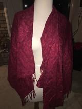 Blue Star Fashion Shawl Cape Red (Luxury Knit) - €19,86 EUR