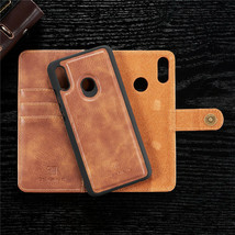 Leather wallet FLIP MAGNETIC BACK cover Case Huawei P Smart 2019 /Honor 10 Lite - $53.15