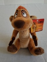 "Disney The Lion King  Timon 6 1/2""  Plush Mini Bean Bag with tag - $10.39"