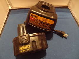 DEWALT  BATTERY PACK & CHARGER COMBO SET  DW9107 & DW9091  WORK WELL 14.... - $37.99