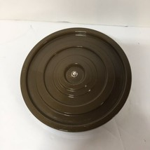 """6"""" Brown Turntable Plate Replacement Part Oster Regency Kitchen Center - $9.74"""