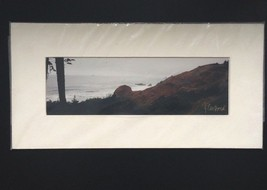 John Ford Nature Water Rocky Hill Sea Shore Biophotography Signed Photog... - $74.21