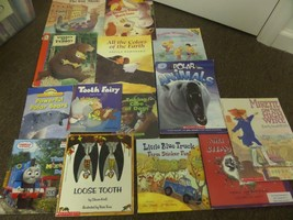 """LOT OF PB CHILDRENS BOOKS """"POLAR ANIMALS WHERE'S MY TEDDY,ALL THE COLORS... - $8.60"""