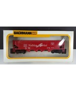 Bachmann CB&Q Burlington Route 41' Quad Hopper Car 0811 HO Scale Train - $9.90