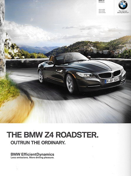 2014 BMW Z4 roadster sales brochure catalog 14 US sDrive 28i 35i 35is
