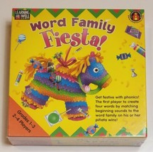 Word Family Fiesta Game by Learning Well Educational Games - $18.69