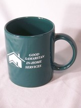 "Good Samaritan In-Home Services coffee cup approx 3.75"" tall - $5.10"