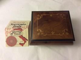 VTG SAN FRANCISCO MUSIC BOX COMPANY INLAY WOOD SORRENTO MADE IN ITALY - $39.59