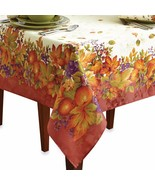 New Kemp & Beatley Harvest Jubilee Spice Fabric Tablecloth Variety Sizes - $32.66+